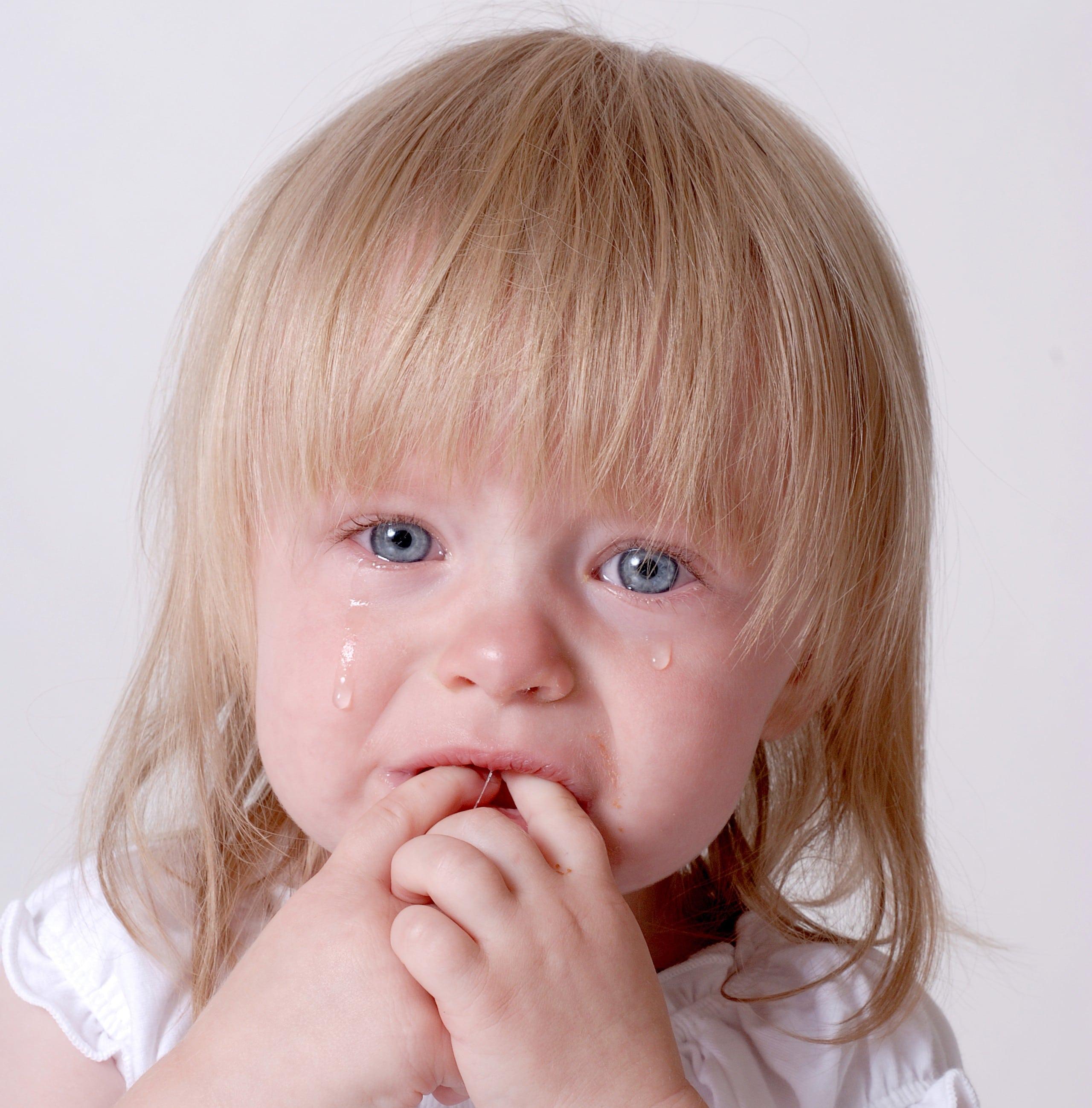 niña llanto