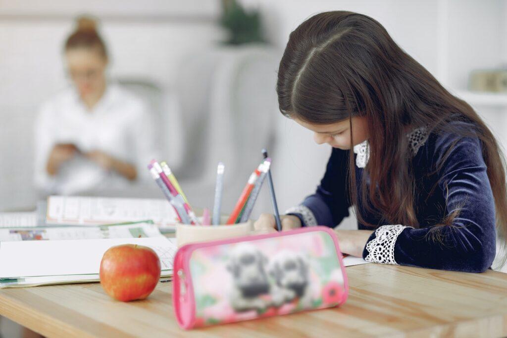 salud bucal rendimiento escolar: visita odontopediatria